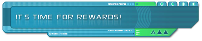 It's time for rewards